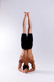Mannelijk yogamodel Royalty-vrije Stock Fotografie