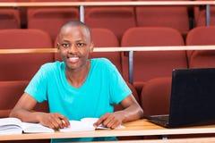 Mannelijke Afrikaanse student stock fotografie