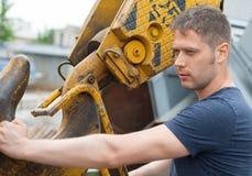 Mannelijke arbeider Royalty-vrije Stock Foto