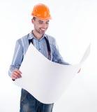 Mannelijke architect Stock Afbeeldingen