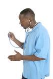 Mannelijke Arts of Verpleegster 6 Royalty-vrije Stock Afbeelding