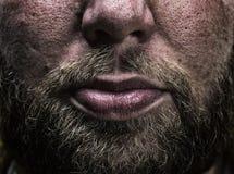 Mannelijke baard royalty-vrije stock foto