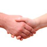 Mannelijke en vrouwelijke handen royalty-vrije stock afbeelding