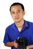 Mannelijke Fotograaf Stock Fotografie