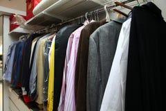 Mannelijke garderobe Stock Afbeeldingen