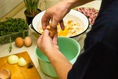 De koks van de mens stock fotografie