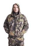 Mannelijke jager Royalty-vrije Stock Foto