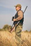 Mannelijke jager Stock Fotografie