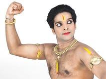 Mannelijke klassieke danser van Azië Royalty-vrije Stock Foto