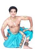 Mannelijke klassieke danser van Azië Stock Foto's