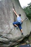Mannelijke klimmer 1 Royalty-vrije Stock Afbeeldingen