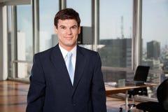 Mannelijke Ondernemer Smiling Royalty-vrije Stock Foto's