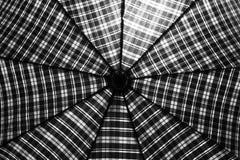Mannelijke paraplucel als Web Royalty-vrije Stock Foto