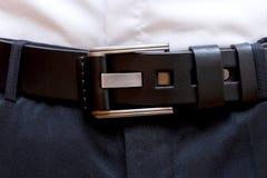 Mannelijke riem voor broeken royalty-vrije stock fotografie