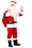 Mannelijke santa status Royalty-vrije Stock Foto
