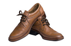 Mannelijke schoenen Stock Foto's