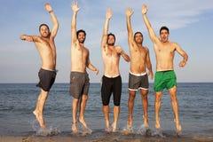 Mannelijke vakantie stock foto