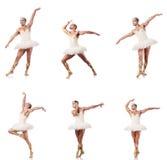 Mannen i balettballerinakjol Royaltyfri Foto