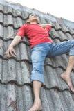 Mannentdeckunginspiration Stockbild
