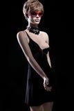 Mannequin érotique femelle dans des vêtements images libres de droits