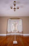 Mannequin. In an empty room stock image