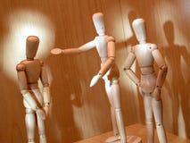 Mannequin 3 infornato Immagini Stock