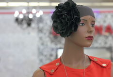 Mannequin with accessories Royalty Free Stock Photo