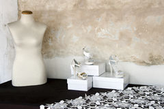 Free Mannequin And Shoes Royalty Free Stock Photos - 27603198