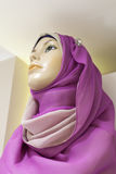 Mannequin of an arabian woman in hijab Stock Photo
