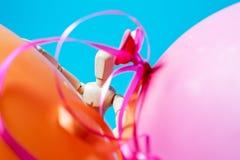 Mannequin bada balony po dużego przyjęcia Zdjęcie Stock