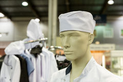 Mannequin in the baker costume Stock Images