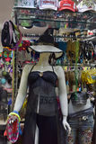 Mannequin in a bathing suit and beach dress Royalty Free Stock Photos