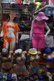 Mannequin in a bathing suit Royalty Free Stock Image