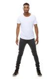 Mannequin beau de mâle d'afro-américain Photos libres de droits