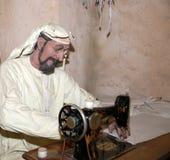 Mannequin Belonger (bédouin) Musée de Dubaï, Emirats Arabes Unis Images libres de droits