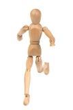 mannequin biegać drewniany Fotografia Stock