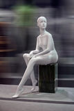 Mannequin, blind Stockfotografie