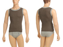 Mannequin with brief and vest Stock Photography
