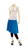 Mannequin with Casual Clothing Royalty Free Stock Photos
