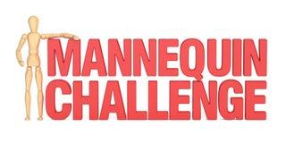 Mannequin Challenge concept, 3D rendering Stock Photography
