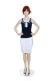Mannequin with clothing isolated Royalty Free Stock Photography