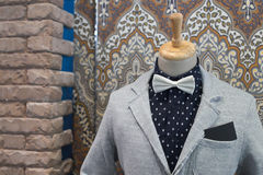 Mannequin In Clothing Shop Stock Photos