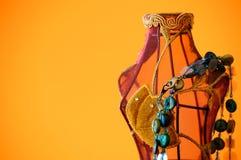 Mannequin com colar Foto de Stock Royalty Free