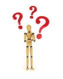 Mannequin confuso royalty illustrazione gratis