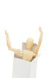 Mannequin dans le cadre Images libres de droits