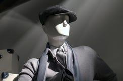 Mannequin dans le gris (horizontal) Photos libres de droits