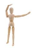 Mannequin, das Aerobicsübung tut Lizenzfreies Stockbild