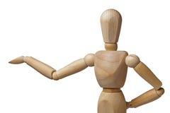 Mannequin, das Vorführer Closeup Isolated darstellt Stockbild