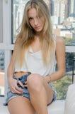 Mannequin de jeune femme Images stock