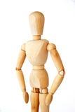 Mannequin de madeira Imagens de Stock Royalty Free